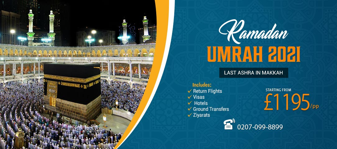 Ramadan Umrah 2021 with best 5 star accommodation and ...